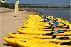 Spływ na 150-cio lecie Wawra